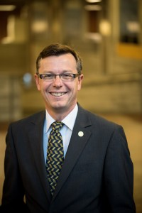 Påtroppende UiB-rektor Dag Rune Olsen. Foto: Eivind Senneset